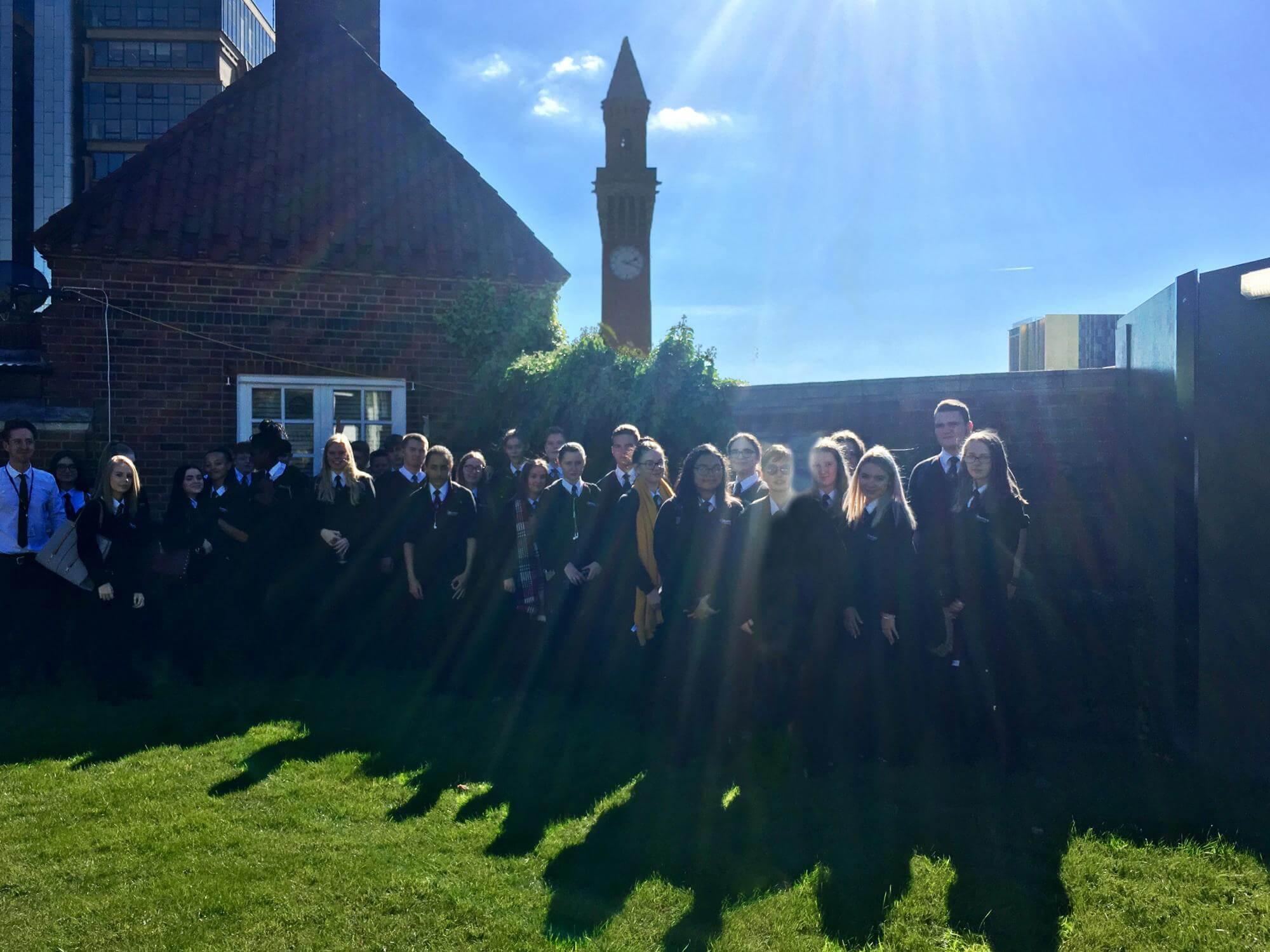University Of Birmingham Visit